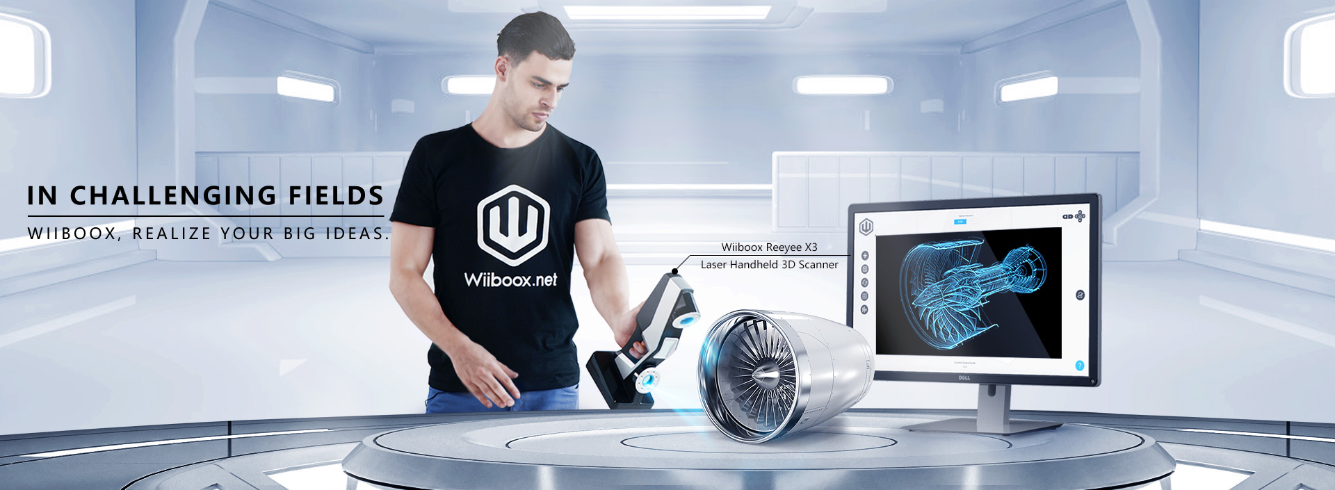 Wiiboox 3D Measurement 3D Scanner
